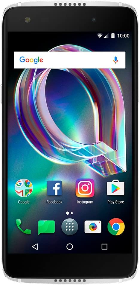 Alcatel Idol 5S 6060S 4G LTE 32GB Android 7.1 Smartphone (Crystal Black) - GSM Unlocked 61mqrdL4yiLSL1000_