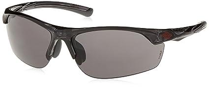 8e4f8257dc AR3 Crossfire Safety Glasses Super Dark Smoke Lens Crystal Black Frame 16428