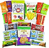 Healthy College Care Package (20 Count) - Granola bars, fruits snacks, popcorn, veggie chips, and more! CollegeBox Variety Assortment Bundle - Great Easter Gift