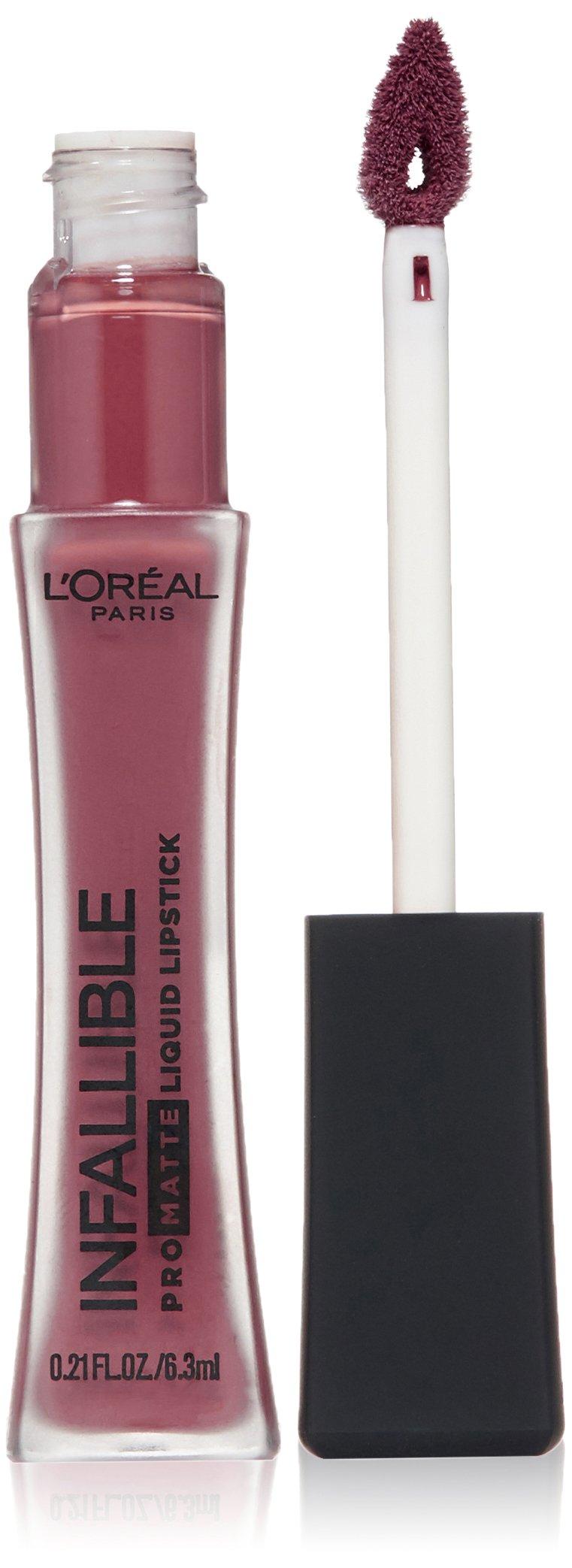 L'Oréal Paris Infallible Pro-Matte Liquid Lipstick, Plum Bum, 0.21 fl. oz.
