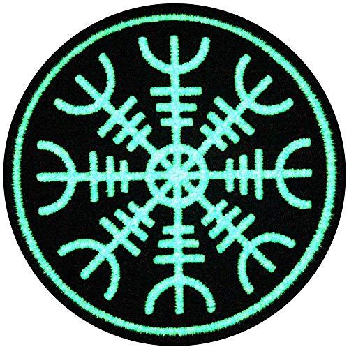 EmbTao Glow In Dark Aegishjalmr Viking Helm of