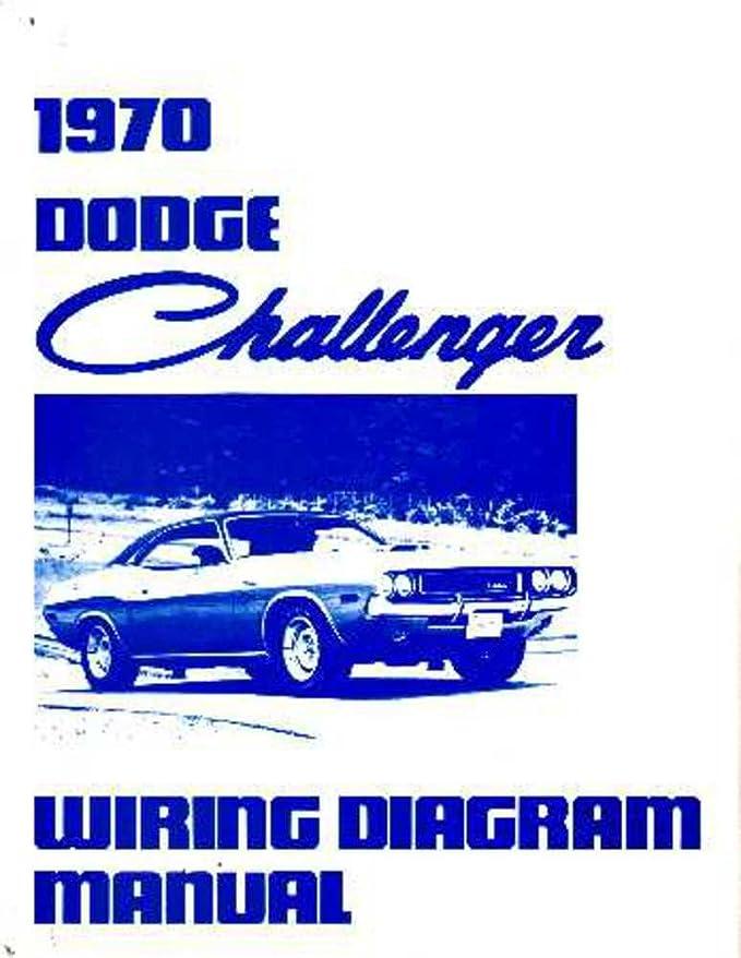 amazon.com: bishko automotive literature 1970 dodge challenger electrical  wiring diagrams schematics factory oem book: automotive  amazon.com