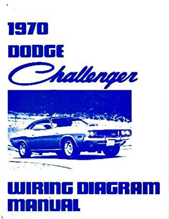 amazon.com: bishko automotive literature 1970 dodge challenger electrical  wiring diagrams schematics factory oem book: automotive  amazon.com