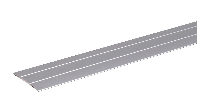 autoadhesivo, con ranuras, aluminio, 900 x 38 mm AH-Alberts Perfil de transici/ón para suelos