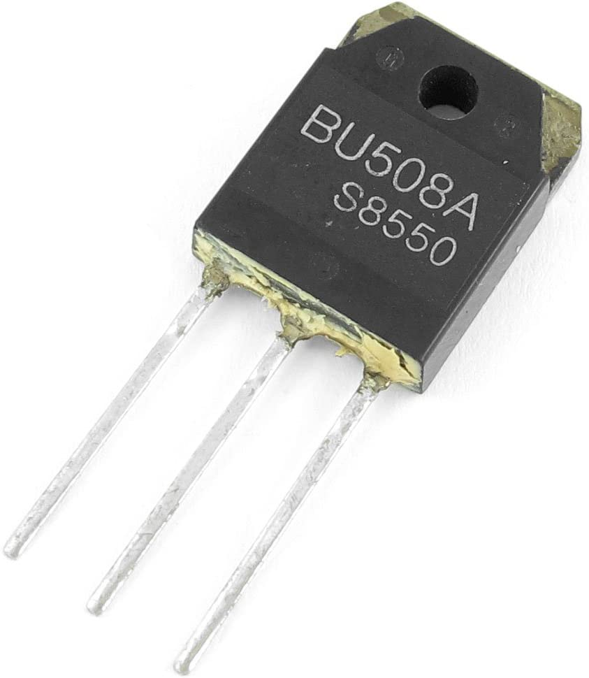 Aexit BU508A Fast Transistors Switching Speed Semiconductor NPN Power Transistor MOSFET Transistors 1500V 5A