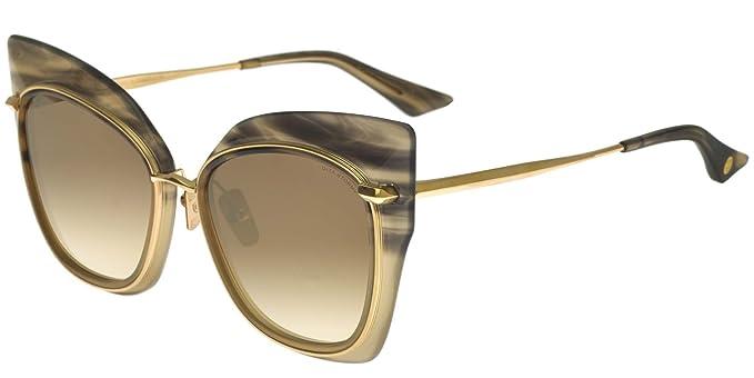 Dita Gafas de Sol STORMY SMOKE SWIRL DARK CREAM K GOLD/GOLD ...