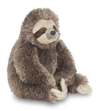Amazon Com Bearington Speedy Plush Three Toed Sloth Stuffed Animal