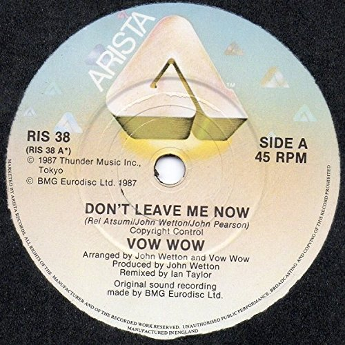 Don't Leave Me Now 7 Inch (7