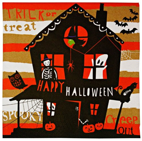 Meri Meri Happy Halloween Sm Napkin