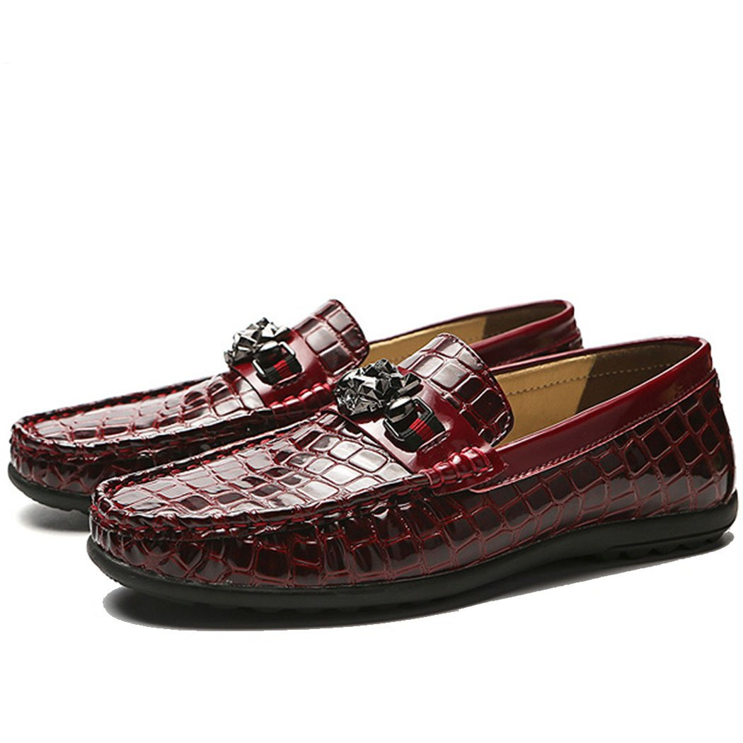 GAOLIXIA Herren Leder Freizeitschuhe Vier Jahreszeiten Leichte Fahr Schuhe Mode Mode Mode Sport Freizeitschuhe Peas Schuhe Business Schuhe Party 0be919
