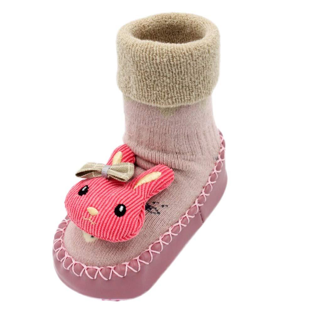 Longra Chaussures Enfant Chaussures B/éb/é Semelle Souple Antid/érapant Fleur