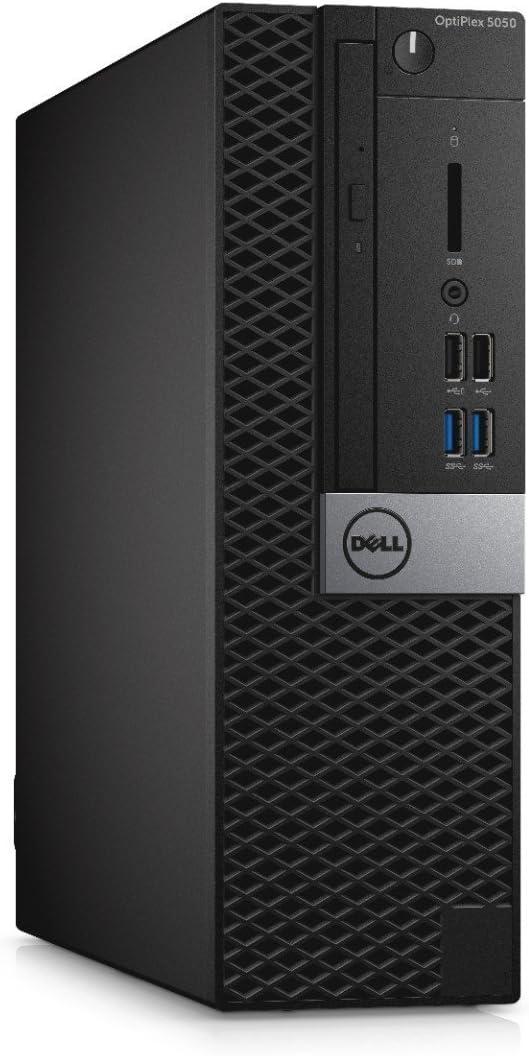 Dell OptiPlex 5050 Small Form Factor Business Desktop Computer (Intel Core i5-6500, 8GB DDR4, 500GB HDD) Windows 10 Pro (Renewed)