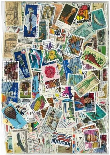 United States Used Postage Stamp Collection - 300 Different Stamps