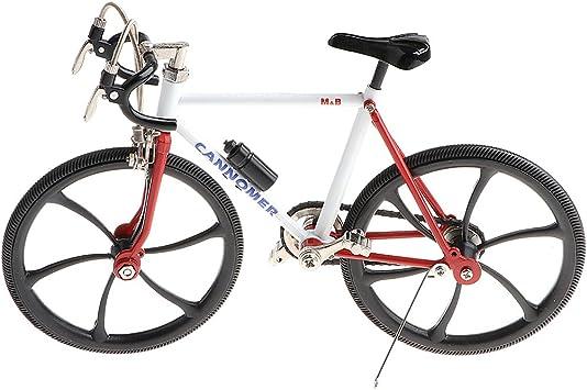 1:10 Modelo de Bicicleta de Aleación Bici de Carrera en Miniatura ...