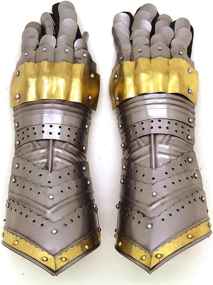 New Medieval gauntlets gloves warrior wearable costume  halloween solid bestgift