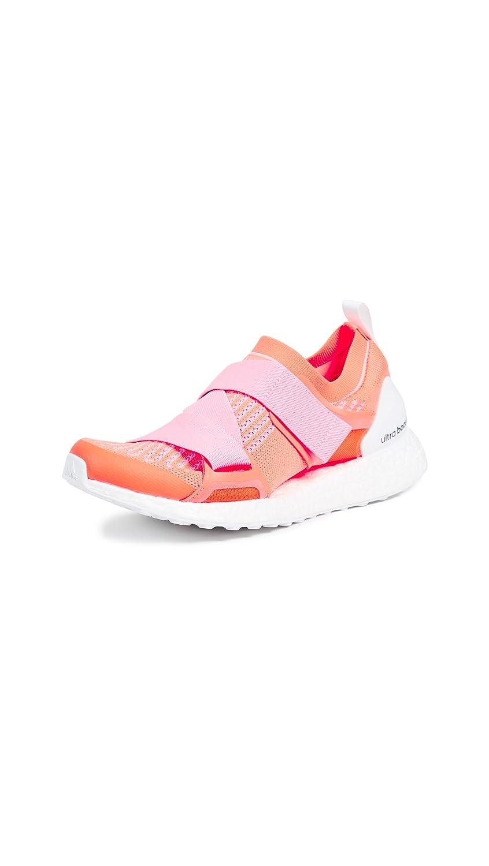 adidas by Stella McCartney Women's Ultra Boost X Sneakers B078ZK2YXP 4 UK|Glow Orange/Hyper Pop/Black