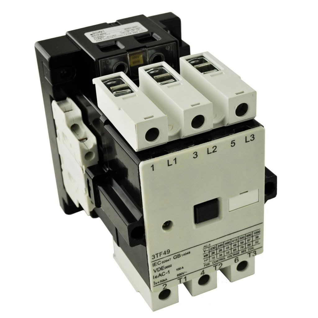 Nofuel 3TF4311-0AK6 Contactor 110//120V Replacement Siemens World Series Contactor 3TF4311 120Volt Control Voltage