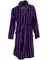 Mens Pierre Roche Multi Stripes Dressing Gown Size XL - Extra Large