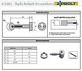 Zipbolt 13.810 Slipfix Railbolt - Connects