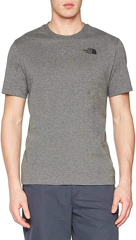 TALLA L. The North Face S/S Red Box tee Camiseta de Manga Corta, Hombre
