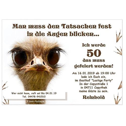 Einladungskarten zum Geburtstag: Amazon.de