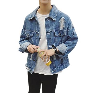 Ripped jeans jacke herren