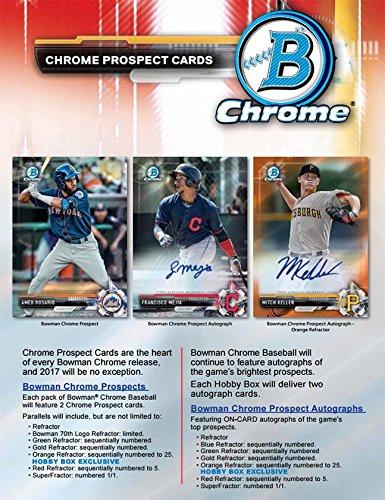 Best Bowman Chrome Baseball Cards 2017 September 2019
