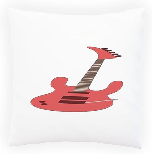 Banda De Música De Guitarra Eléctrica Almohada decorativa, Funda ...