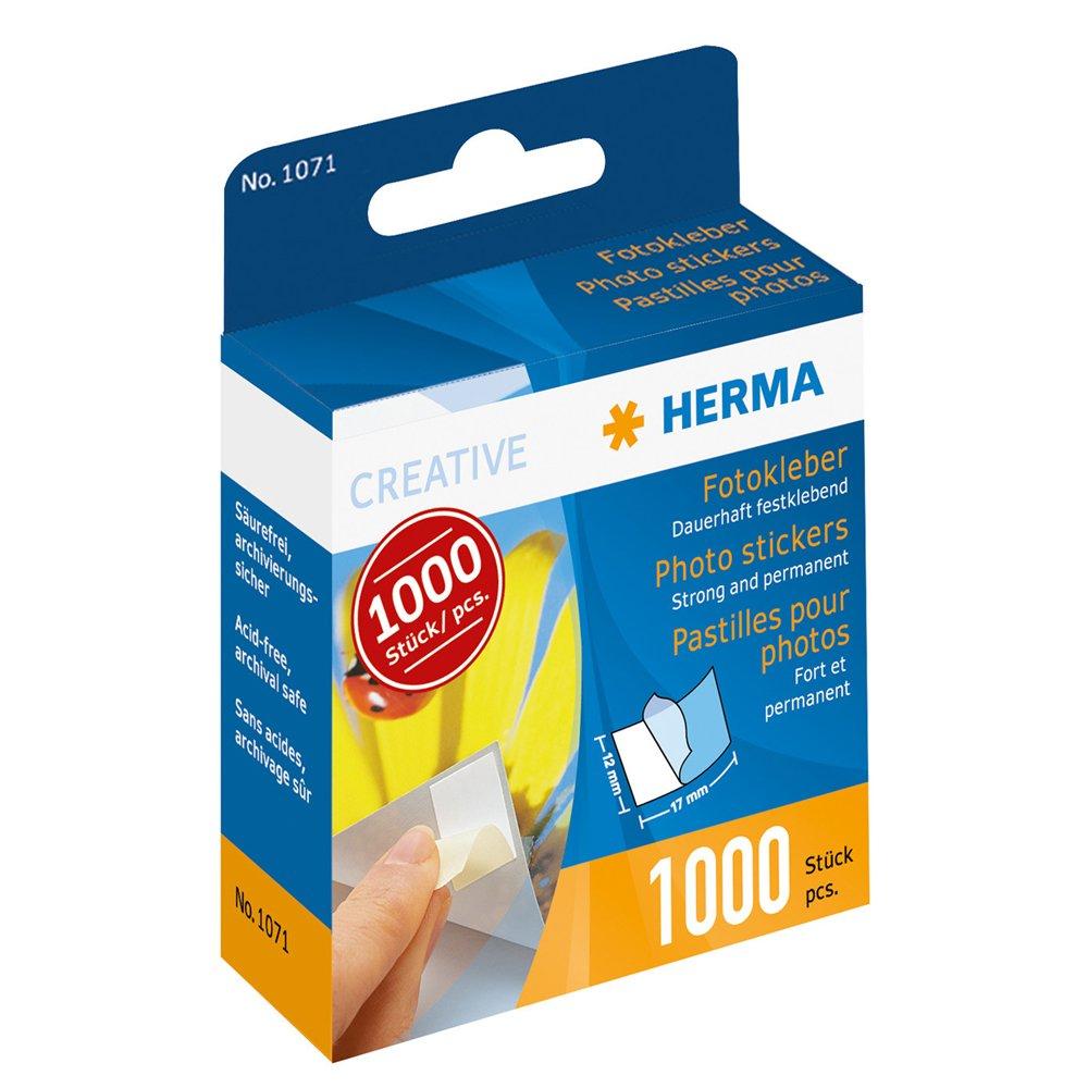 Herma–Foto di colla in dispenser di cartone, contenuto: 1000pezzi ve = 5 1071