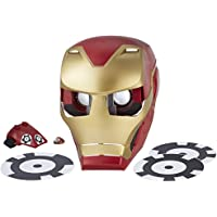 Marvel Avengers Hero Vision Iron Man Realidad Aumentada, Talla única (Hasbro E0849175)