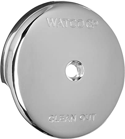 Amazon Com Watco Manufacturing 18003 Cp Overflow Plate Kit 1 Hole Overflow Plate One Screw Adapter Bar Chrome Plated 132670 Home Improvement