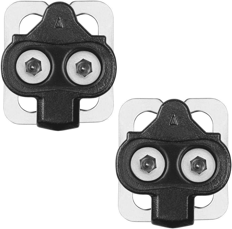 Spinning BV Bike Cleats for Shimano SPD Indoor Cycling /& Mountain Bike Cleat Set