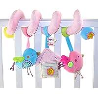 TOYMYTOY Bebé infantil actividad espiral cama cochecito juguete