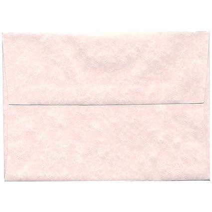 amazon com jam paper a7 parchment invitation envelopes 5 1 4 x 7