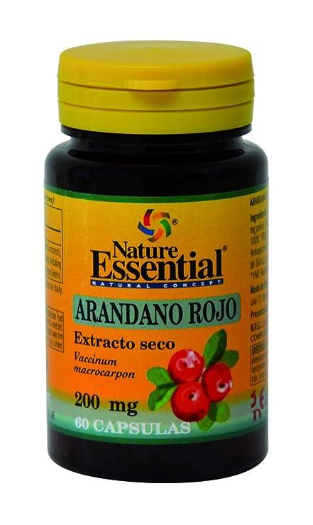 Arandano rojo 5000 mg. (ext. seco 200 mg.) 60 capsulas con vitamina C