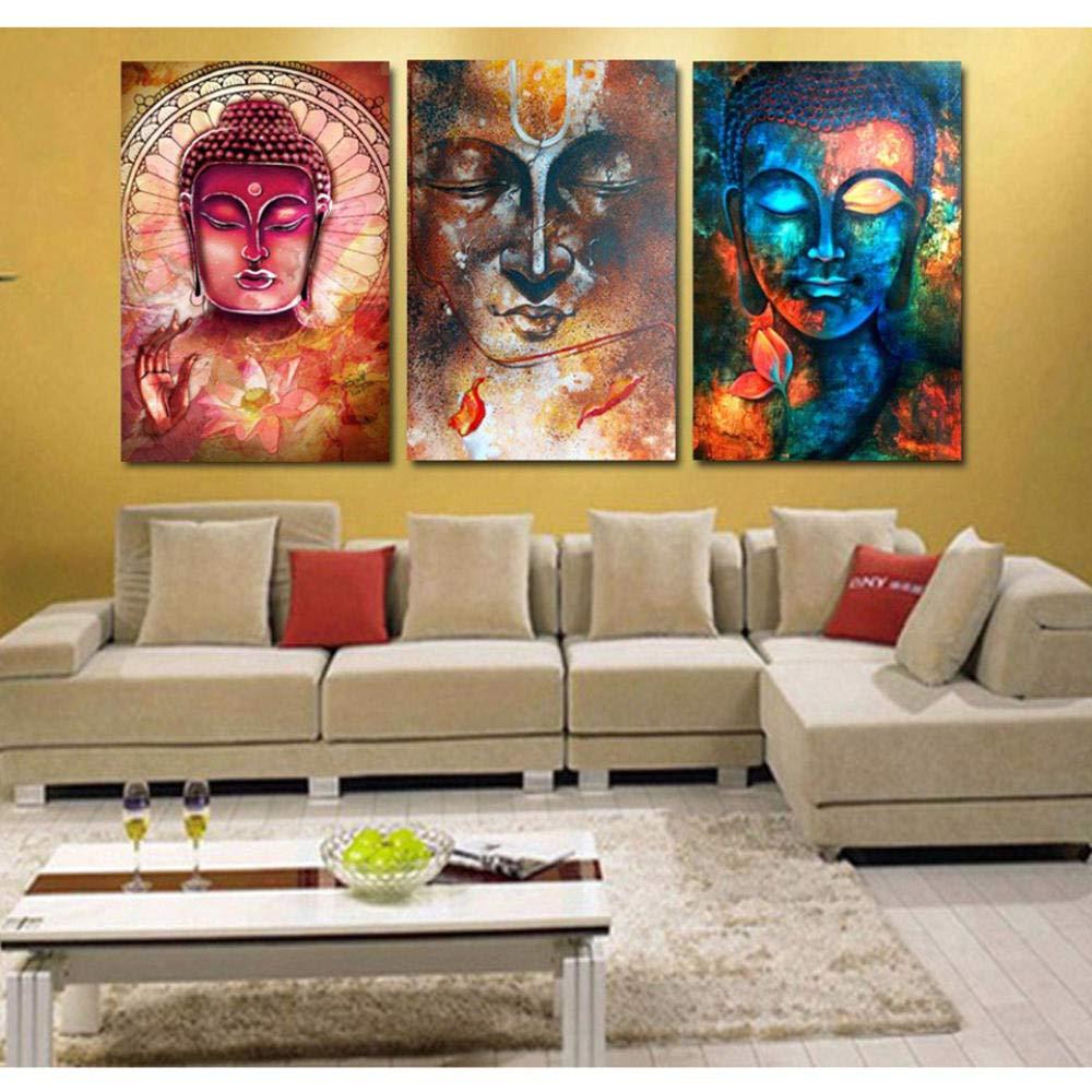 Unframed Leinwand Malerei Drucke Wohnzimmer Schlafzimmer Wand Dekor Buddha