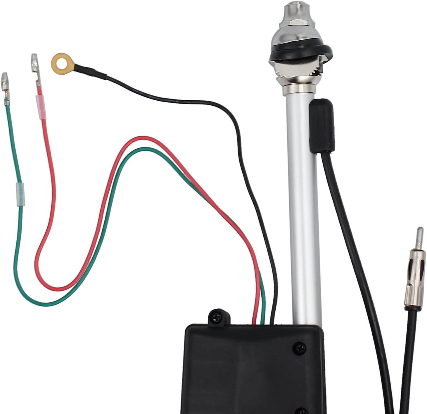 Recambio de Antena eléctrica, Coche Universal SUV Antena Eléctrica Automática Radio AM FM Mástil Antena