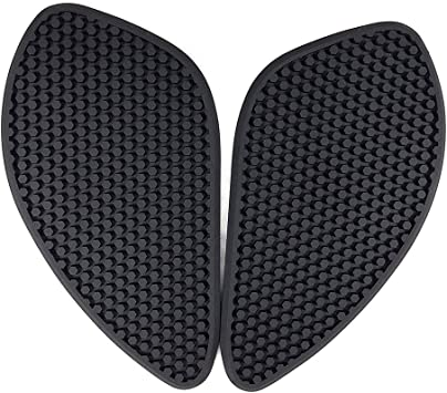 Black 3M Tank Traction Side Pad Gas Fuel Knee Grip Decals Protector Universal