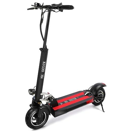 urbetter Patinete Electrico Adulto, Pantalla LCD 10AH500W, 3 Modos de Velocidad, neumáticos de 10 Pulgadas, Scooter eléctrico Plegable para Adultos ...
