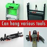 4pcs Garage Hooks for Hanging Ladder Hose Extension