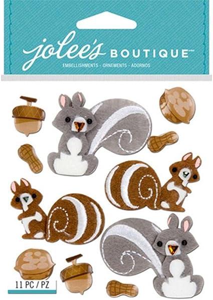 SQUIRRELS /& NUTS NEW RELEASE-JOLEE/'S//JOLEES BOUTIQUE
