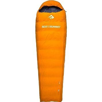 Sea to Summit Trek tkiii de 11 grados - Saco de dormir con relleno de plumón: Amazon.es: Deportes y aire libre