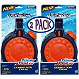 Nerf Super Soaker Domination Drum Water Clip - 2 Pack