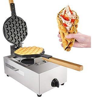 protection contre la surchauffe int/égr/ée 220V 1300W Bubble Waffle Maker 30pcs Egg Waffle Maker Machine /à gaufres /à bulles professionnelle avec rev/êtement antiadh/ésif en acier inoxydable