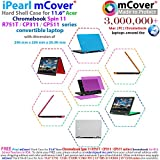 mCover iPearl Hard Case for 11.6 Acer Chromebook Spin 11 R751T CP311 Series (NOT Compatible with R11 CB5-132T / C738T, C720/C730/C740/CB3-111/CB3-131 Series) Convertible Laptop (S11 R751T Clear)