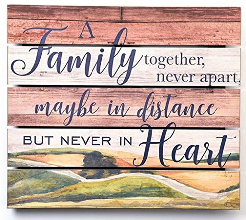 GiftCraft MDF Design Sign, Family by Gift Craft