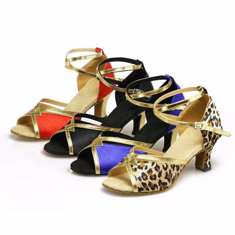 rouge US7.5 EU38 UK5.5 CN38 Masocking@ Femme Chaussures de Danse Sandales Chaussures de danse de la section moderne
