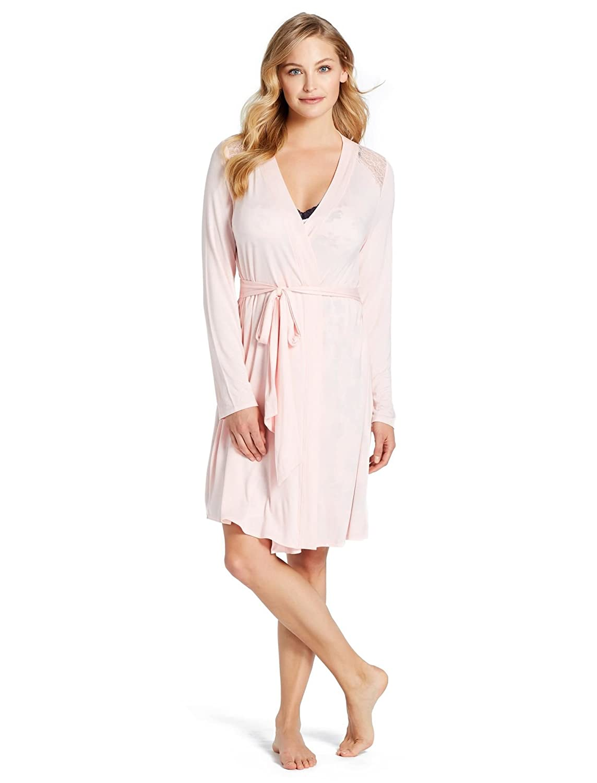 Jessica simpson lace trim maternity robe at amazon womens jessica simpson lace trim maternity robe at amazon womens clothing store ombrellifo Gallery