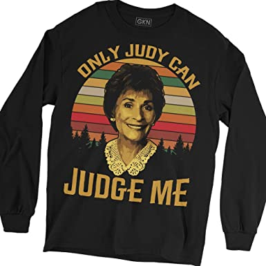 d7070f382 Only Judy Can Judge Me Vintage T-Shirt Judge Judy | Amazon.com