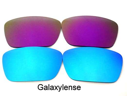 6064c514b8 Galaxylense Replacement Lenses for Oakley Fuel Cell Ice Blue Purple Color  Polarized